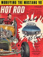 Hot Rod  Oct 1,1964 Magazine