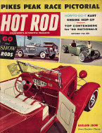 Hot Rod  Sep 1,1960 Magazine