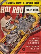 Hot Rod  Sep 1,1961 Magazine