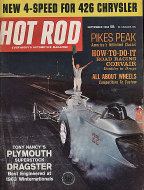 Hot Rod  Sep 1,1963 Magazine