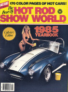 Hot Rod Show World 1985 Yearbook Magazine
