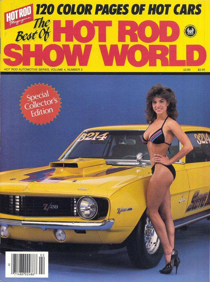 Hot Rod Show World Vol. 4 No. 2 Magazine, 1986 at Wolfgang\'s