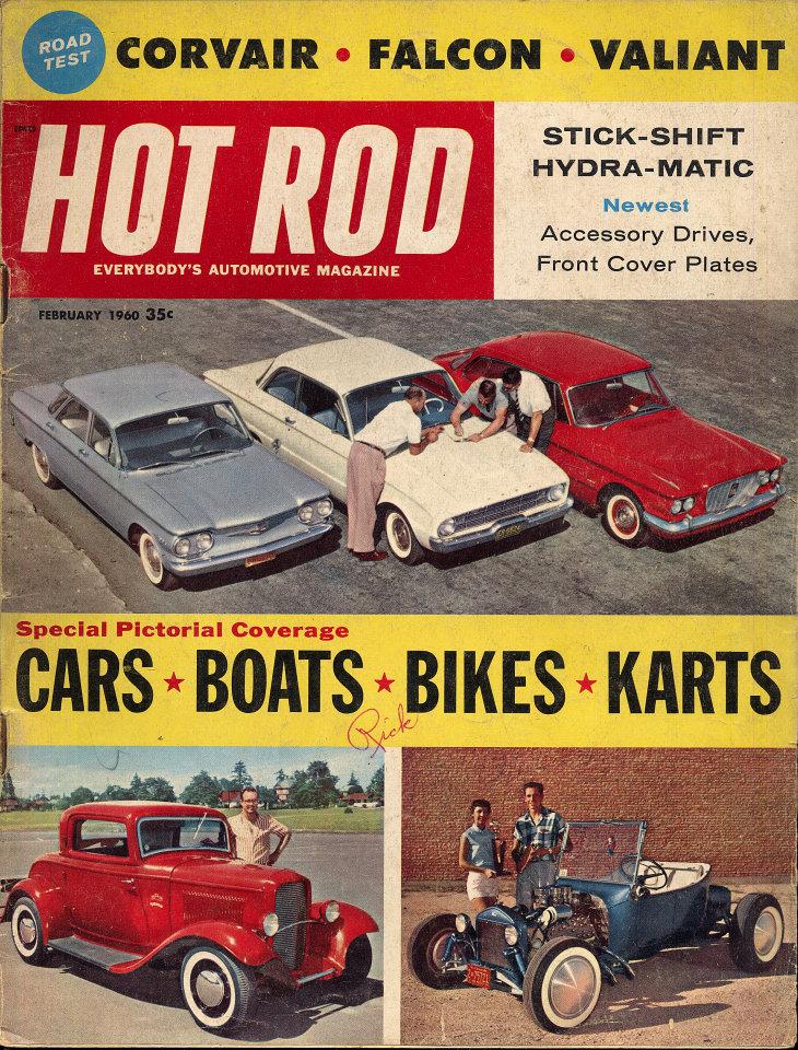 Hot Rod Vol. 13 No. 2 Magazine, Feb 1, 1960 at Wolfgang\'s