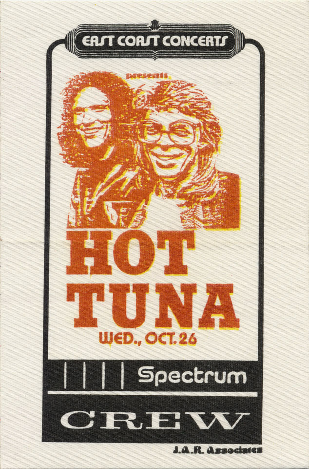 Hot Tuna Backstage Pass