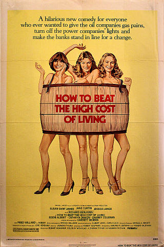 How to Beat the High Cost of Living Poster