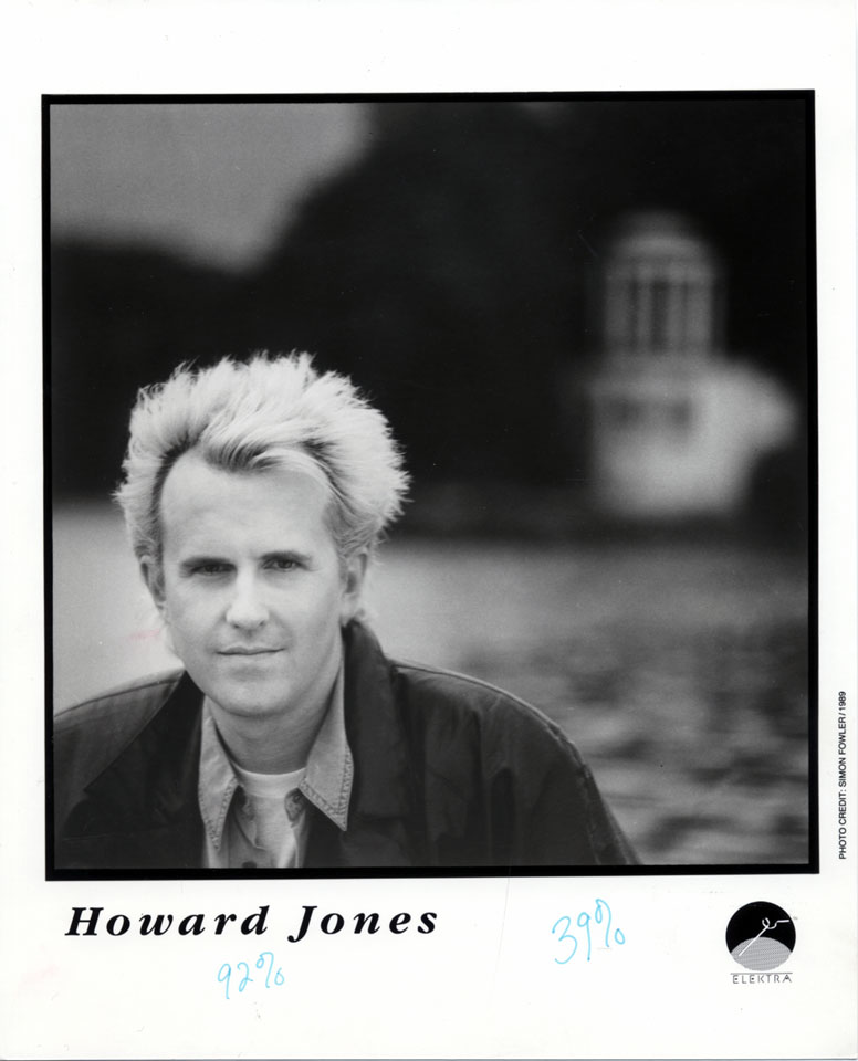 Howard Jones Promo Print