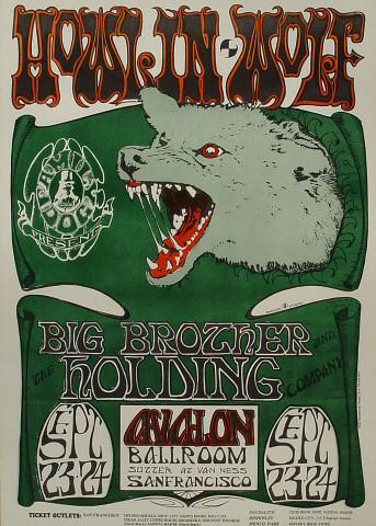 Howlin' Wolf Poster