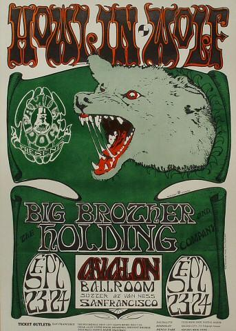 Howlin' Wolf Poster