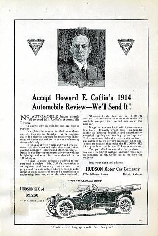 Hudson: Six 54 Vintage Ad
