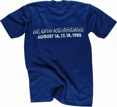 Huey Lewis & the News Kid's Vintage T-Shirt reverse side
