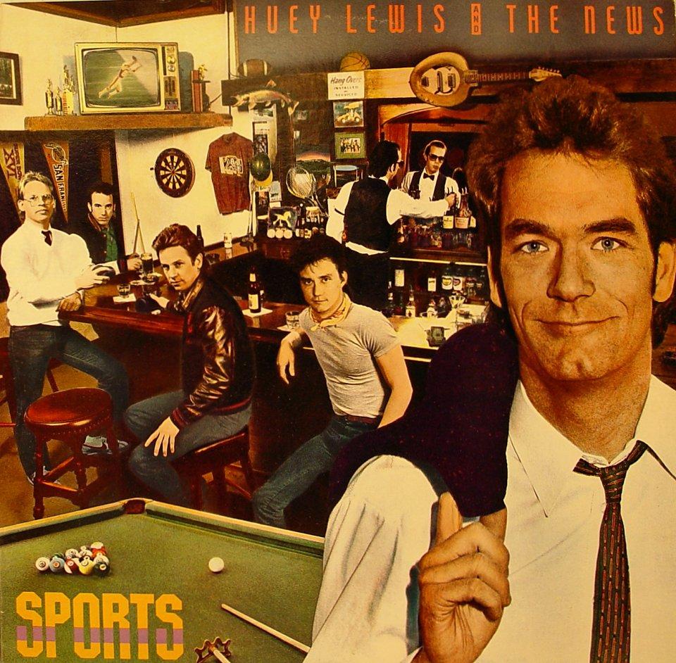 """Huey Lewis & the News Vinyl 12"""" (Used)"""