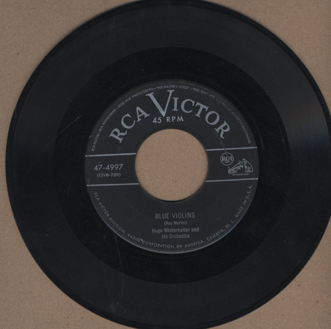 "Hugo Winterhalter and His Orchestra Vinyl 7"" (Used)"