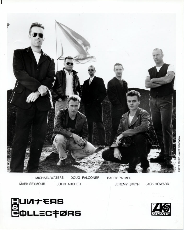 Hunters and Collectors Promo Print
