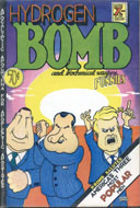 Hydrogen Bomb and Biochemical Warfare Funnies Comic Book