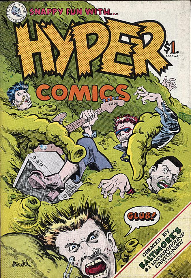 Hyper Comix Comic Book