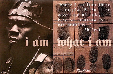I Am - 50 Cent Poster
