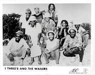 I Three's and the Wailers Promo Print