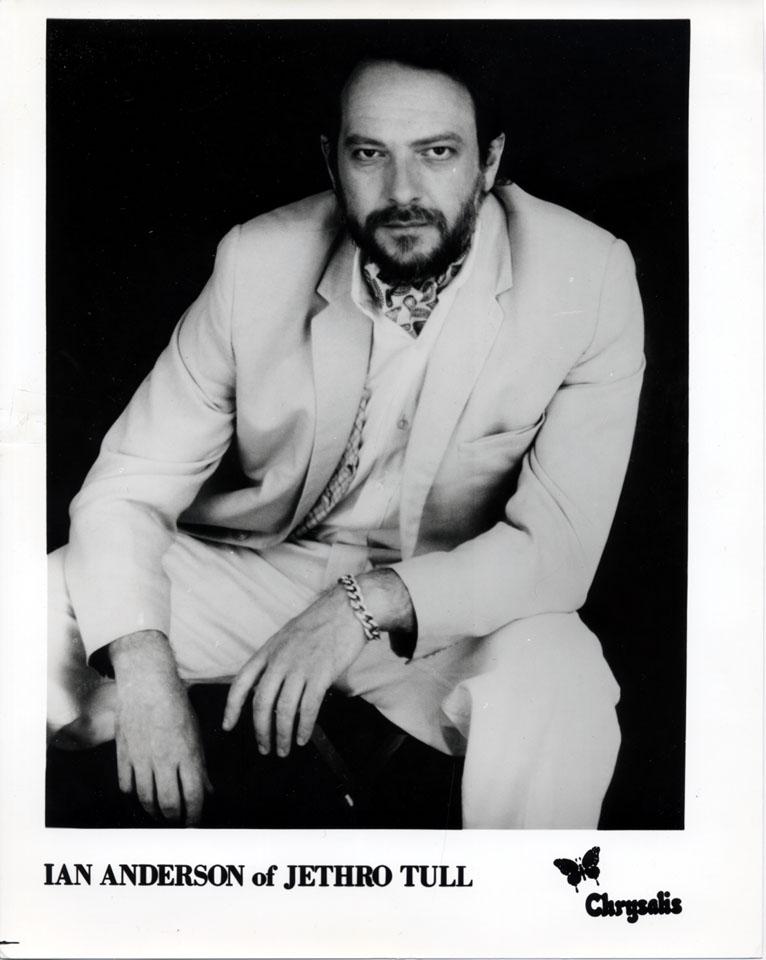 Ian Anderson Promo Print
