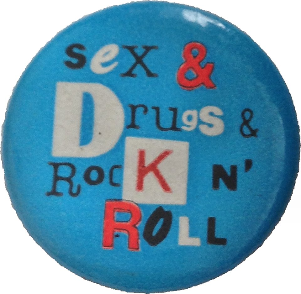 Ian Dury & The Blockheads Pin