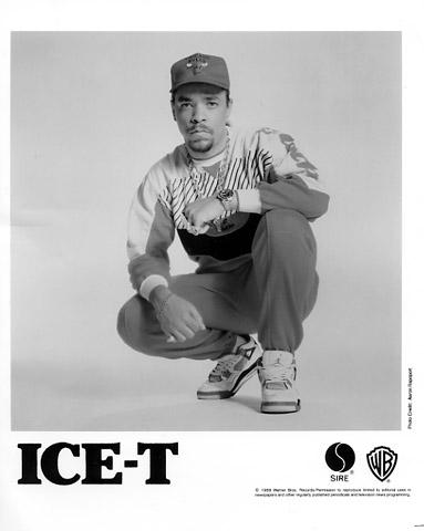 Ice-T Promo Print