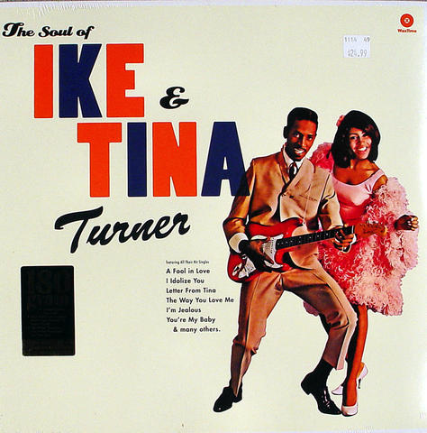 "Ike & Tina Turner Vinyl 12"" (New)"