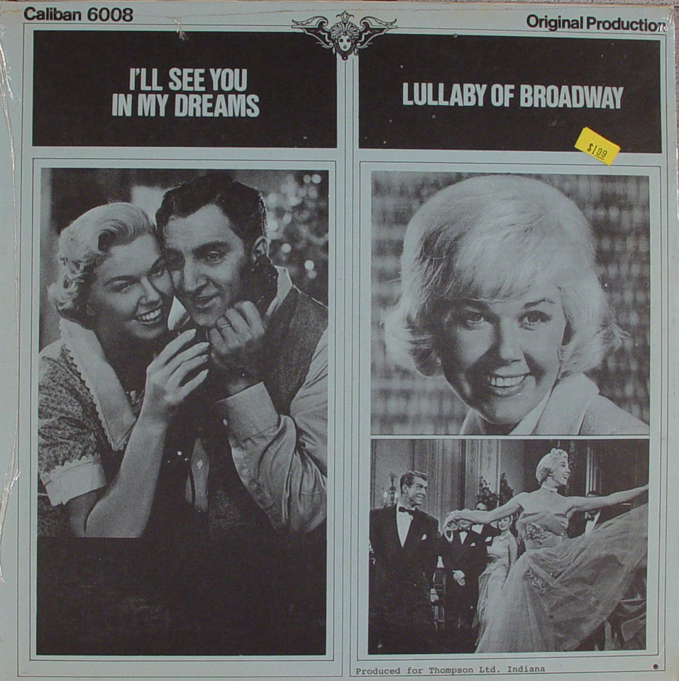 """I'll See You In My Dreams / Lullaby Of Broadway Vinyl 12"""" (New)"""