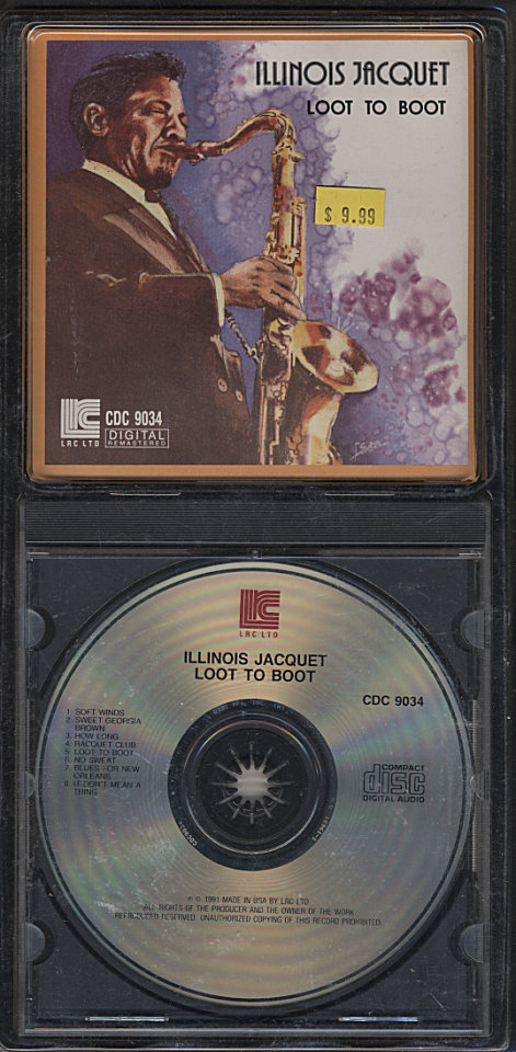 Illinois Jacquet CD