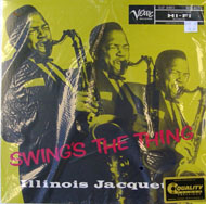 "Illinois Jacquet Vinyl 12"" (New)"