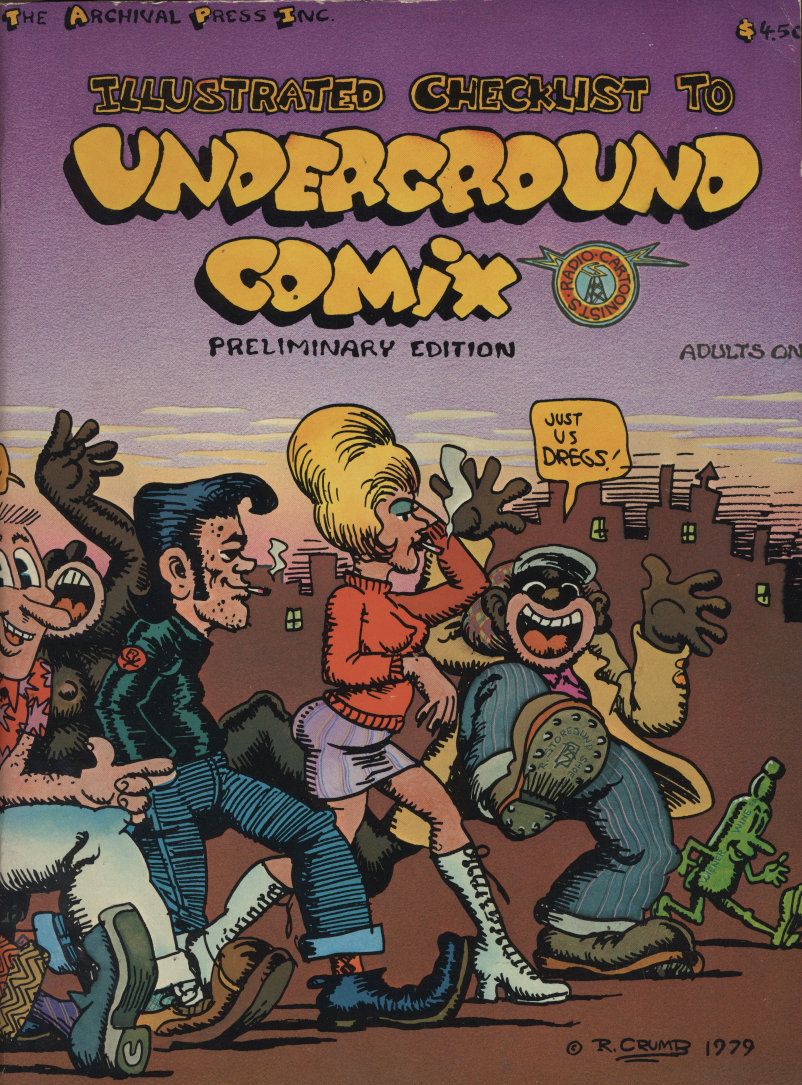 Illustrated Checklist to Underground Comix: Preliminary Edition Comic Book