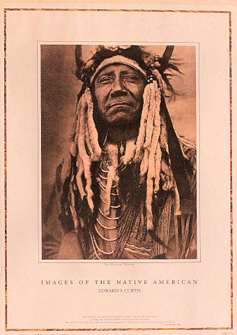 Images Of The Native American: Two Moons - Cheyenne Poster