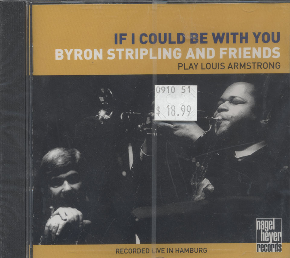 Byron Stripling and Friends CD