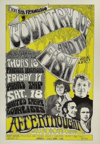 Country Joe & the Fish Poster