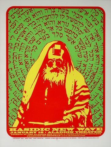 Hasidic New Wave Poster