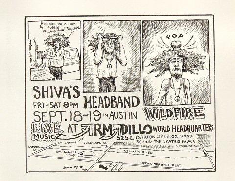 Shiva's Headband Handbill