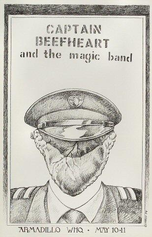 Captain Beefheart & The Magic Band Poster