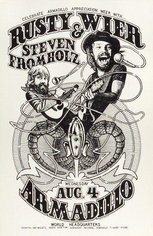 Rusty Wier Poster