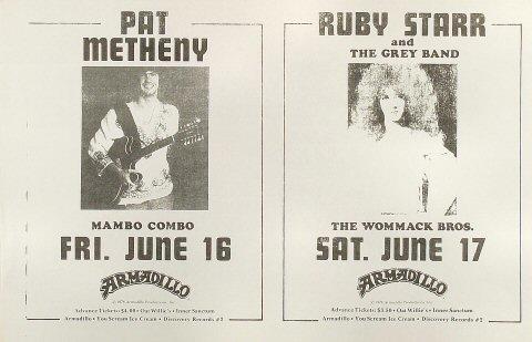 Pat Metheny Poster