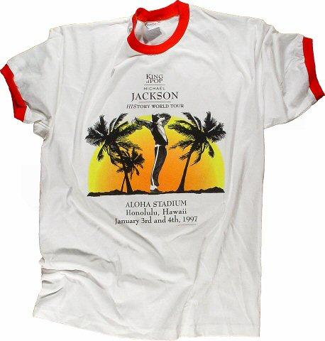 Michael Jackson Men's Vintage T-Shirt