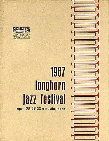 Longhorn Jazz Festival Program