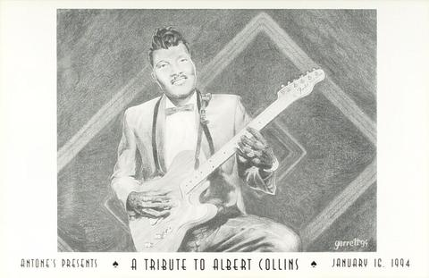 Tribute to Albert Collins Poster
