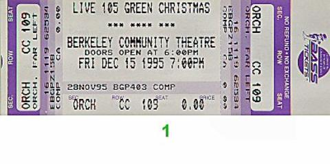 Garbage Vintage Ticket
