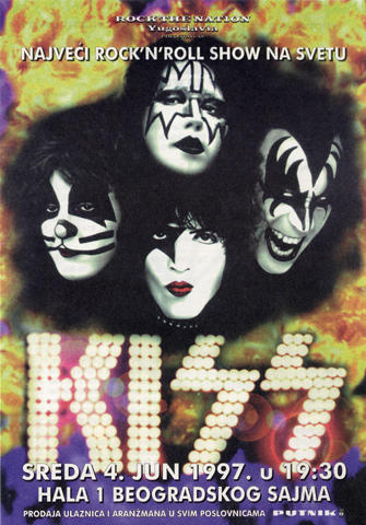 Kiss Handbill