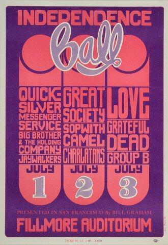Quicksilver Messenger Service Poster