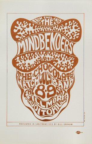 The Mindbenders Handbill