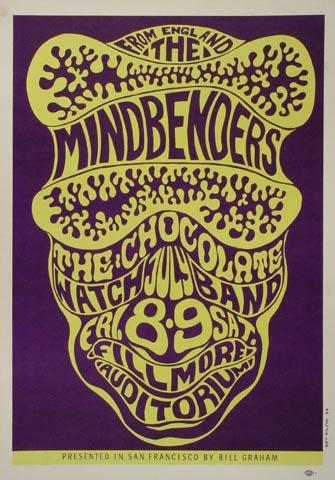 The Mindbenders Postcard