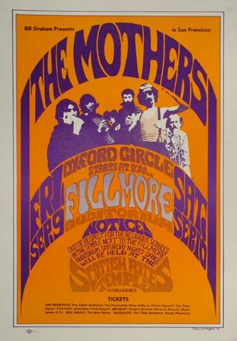The Mothers of Invention Handbill