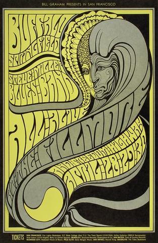 Buffalo Springfield Postcard