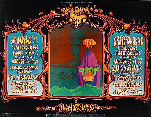 The Who Postcard