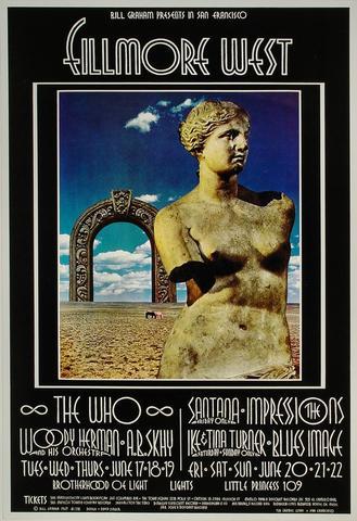 The Who Handbill