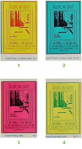 John Mayall Vintage Ticket